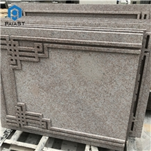 Granite Cnc Carving Pattern for Wall and Door Wall