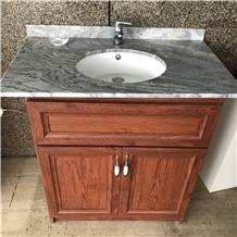 Grey Granite Bathroom Vanity Top Cabinet