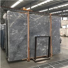 Imported Bianco Leopardo Marble Slab Tile for Wall