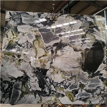 Luxury Green Stone Wizard Of Oz Marble Slab