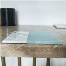 Marble Composite Glass Tiles Backlight Panel