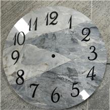 Modern European Style Simple Marble Clock