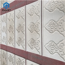 New Design Decorative 3d Cnc Marble Panel for Wall
