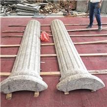 Yellow Granite Column Molds for Wedding