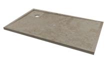 Stone Shower Bases, Beige Travertine Shower Trays