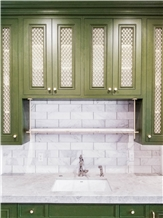 Owsi Bellaview Kitchen Top and Backsplash Tiles