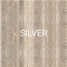 Durango Blanco Toscano Silver Travertine Slab,Tile