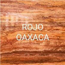 Mexico Travertino Rojo Oaxaca Slabs, Tiles