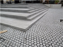 Impala Adriatic Granite Steps,Tumbled Cobble Stone
