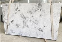 Super White Calacatta Quartzite Slabs