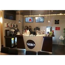 Coffee Shop Restaurant Bar Counter Design
