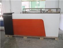 Custom Modern Bank Reception Desk Counter