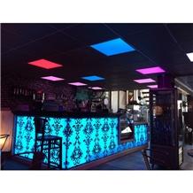 Modern Led Restaurant Bar Counter Design