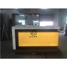 Solid Surface Club Bar Counter Top