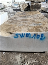 Beige Imperial Marble Blocks, Royal Thala Beige Marble Block