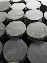 Cheap Black Riven Slate Tiles Ourdoor Pavers