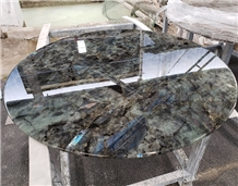 Wholesale Labradorite Lemurian Blue Granite Table