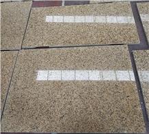 Africa Gold Granite Floor Wall Slab Tiles