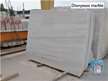Dioniso Semi White Grey Marble Polished Slabs Tile
