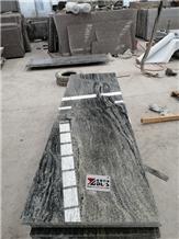 Lithuania Slabs New Nero Santigo Granite Tiles