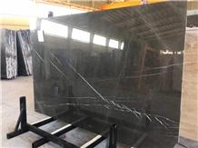 Pietra Grey Graphito Marble Slab