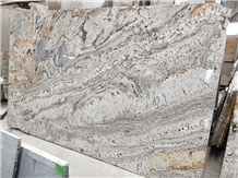 Dragon Gold Granite Countertop Prefabrication