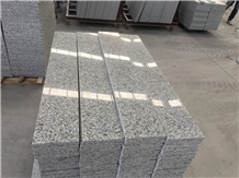 G602 Stairs Project Chinese Granite Light Grey