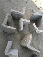 Grey Slate Cultured Corner Stone