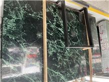 Verde Alpi Important Marble Dark Green Slabs/Tiles