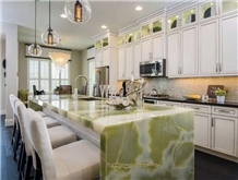 Emerald Dark Green Onyx Countertop