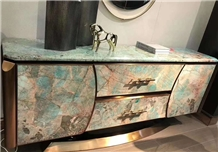 Stone Panel Ultra Thin Sheets Marble Table Interior