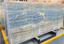Wall Decorative Blue Onyx Stone