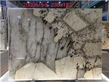 Brazil Pandora White Quartzite Polished Slabs