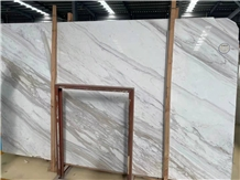 Greece Volakas White Marble Polished Slabs