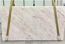 New Rosa White Marble Pink Rainbow Slabs&Tiles
