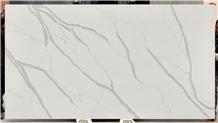 Caesarstone Calacatta White Quartz Stone Slab