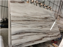 Chinese Palissandro White Marble Slabs