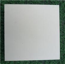 Pure White Artificial Stones Terrazzo Tile