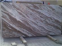 Toronto Brown Marble Slab, India Brown Marble