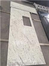 Andromeda White Srilanka White Granite Countertops Kitchen