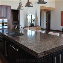 Baltic Brown Granite Kitchen Island Top