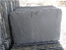 Cheap Split Surface China Black Slate Roof Tiles