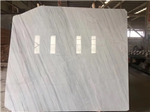 China Bianco Milan Marble Slab Wall Floor Tiles