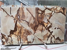 China Roman Impression Marble Slab Wall Tiles
