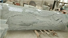 China Viscount White Grey Granite Small Slab