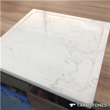 Customized Polished Faux Alabaster Wall Panel
