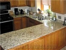 New Venetian Gold Granite Kitchen Countertop Bar Tops