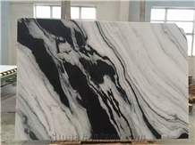 Panda White Marble with Black Grain Big Marble