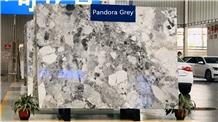 Pandora White Marble Slab/China Grey Marble Slab