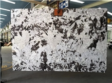 Snow Mountain Silver Fox Granite Bianco Antico